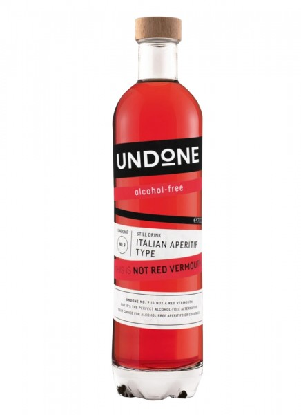 Undone No. 9 Italian Aperitif Type This is NOT Red Vermouth! 0,7 L