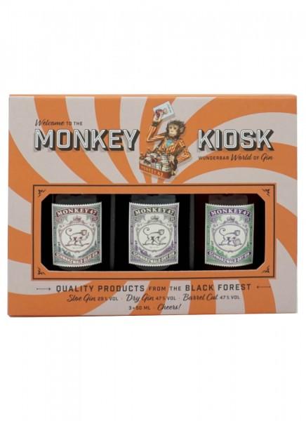 Monkey 47 Gin Kiosk 3x 0,05 L