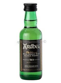 Ardbeg 10 Years Islay Single Malt Whisky Mini 0,05 L