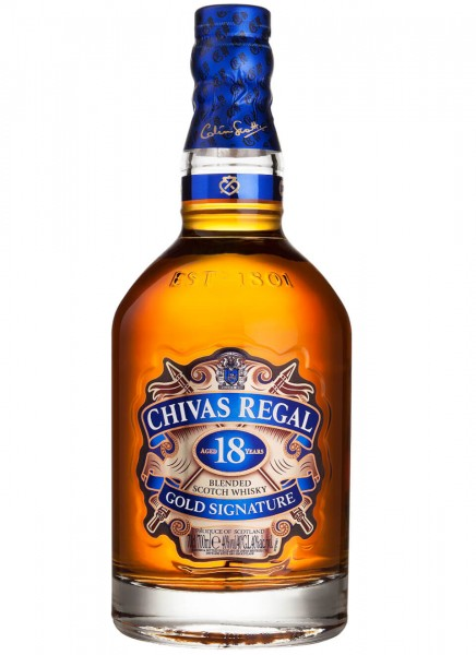 Chivas Regal 18 Years Blended Scotch Whisky 0,7 L