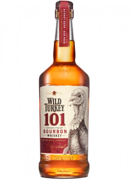 Wild Turkey 101 Proof Bourbon Whiskey 0,7 L