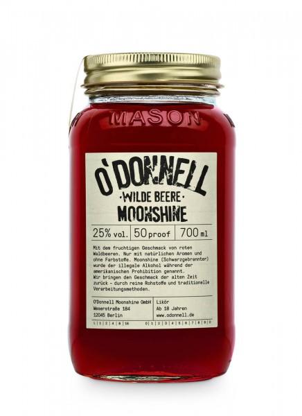 O'Donnell Moonshine Wilde Beere Likör 0,7 L