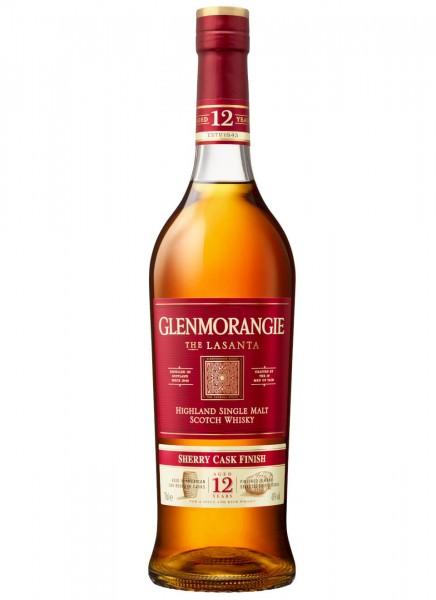 Glenmorangie Lasanta Highland Single Malt Scotch Whisky 0,7 L