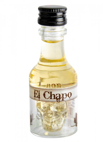 Krugmann El Chapo Tequila Orangen Miniatur Likör 0,02 L PET
