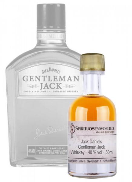 Jack Daniels Gentleman Jack Whisky Tastingminiatur 0,05 L