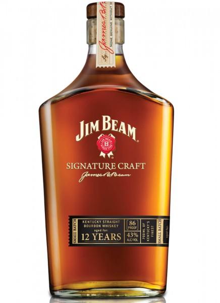 Jim Beam Signature Craft Bourbon Whiskey 0,7 L