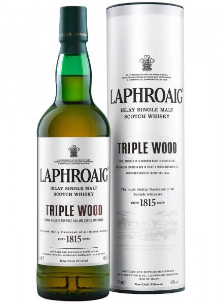 Laphroaig Triple Wood Islay Single Malt Scotch Whisky 0,7 L