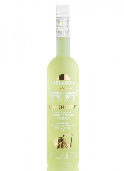 Laplandia Lemon Shot Flavored Vodka 0,7 L
