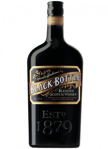 Gordon Grahams Black Bottle Blended Scotch Whisky 0,7 L