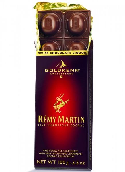 Schokolade Remy Martin Cognac Goldkenn 0,1 Kg