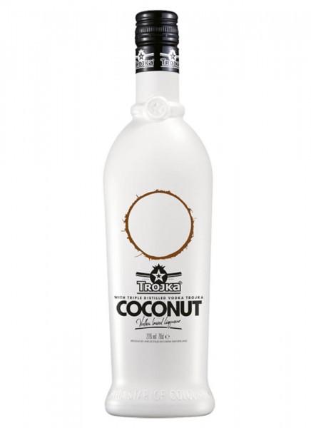 Trojka Vodka Likör Coconut 0,7 L