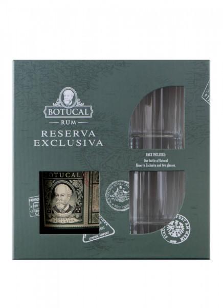 Botucal Reserva Exclusiva Rum mit 2 Tumblern 0,7 L