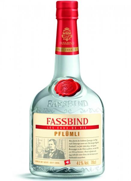 Fassbind Fine Eaux de Vie Pflümli 0,7 L