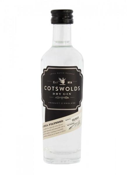 Cotswolds Dry Gin Miniatur 0,05 L