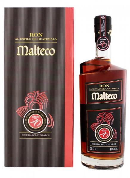 Malteco Reserva del fundador 20 Anos Rum 0,7 L