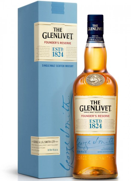 The Glenlivet Founders Reserve Single Malt Scotch Whisky 0,7 L