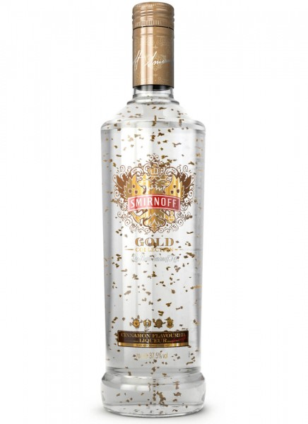 Smirnoff Gold Zimt Vodka 0,7 L