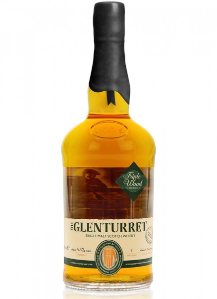 Glenturret Triple Wood Single Malt Scotch Whisky 0,7 L