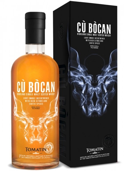 Tomatin Cu Bocan Highland Single Malt Scotch Whisky 0,7 L
