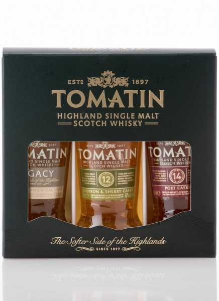 Tomatin Coopers Choice Single Malt Whisky Miniaturen-Set 0,15 L