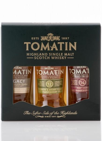 Tomatin Coopers Choice Single Malt Whisky Miniaturen-Set 0,15 L