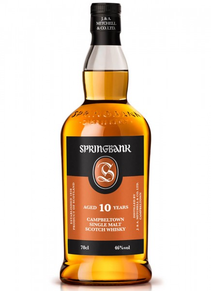 Springbank 10 Years Whisky 0,7 L