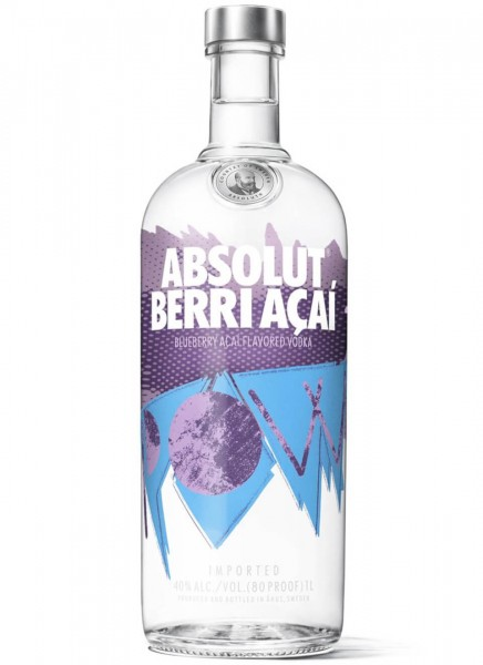 Absolut Vodka Berri Acai 1 L