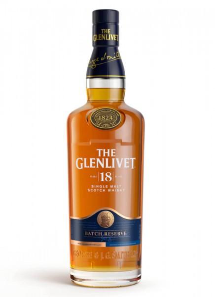 The Glenlivet 18 Years Single Malt Scotch Whisky 0,7 L