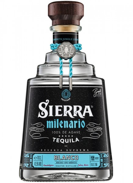 Sierra Milenario Blanco Tequila 0,7 L