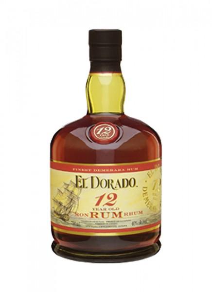 El Dorado 12 Years Rum 0,7 L