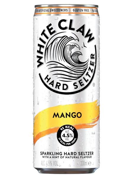 White Claw Hard Seltzer Mango 0,33 L Dose