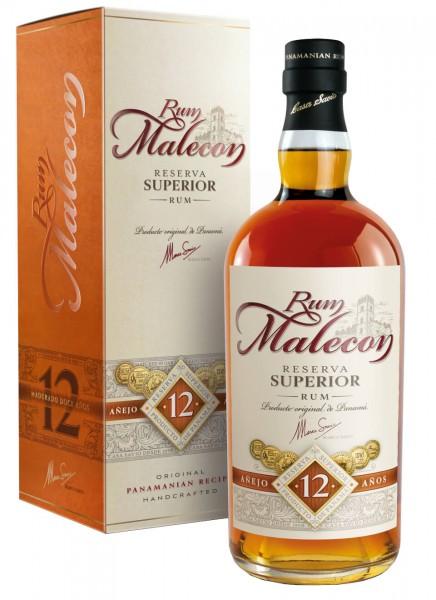Malecon Reserva Superior 12 Anos Rum 0,7 L