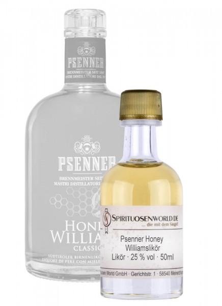 Psenner Honey Williamslikör Tastingminiatur 0,05 L