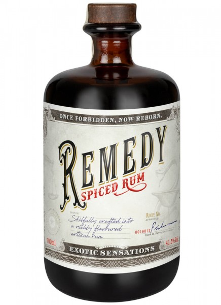 Remedy Spiced Rum 0,7 L