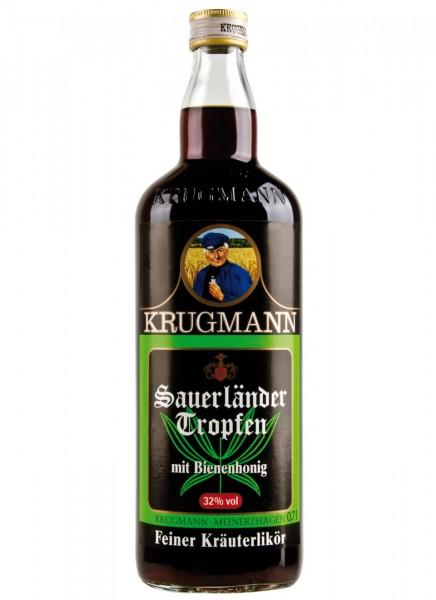 Krugmann Sauerländer Tropfen Kräuterlikör 0,7 L