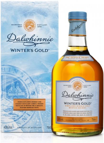 Dalwhinnie Winters Gold Highland Single Malt Scotch Whisky 0,7 L