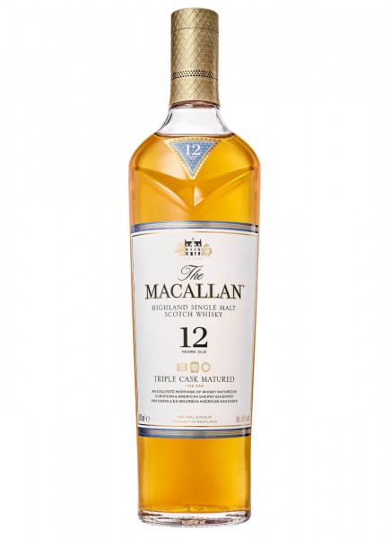 Macallan 12 Years Triple Cask Single Malt Whisky 0,7 L