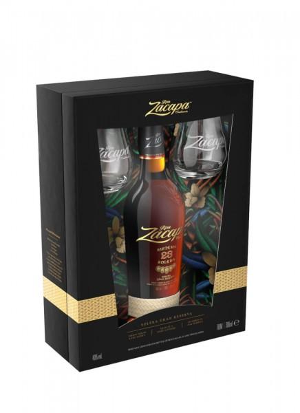 Zacapa 23 Solera Gran Reserva Rum in Geschenkpackung 0,7 L